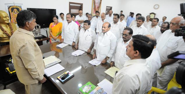 AP TDP Parliamentary Party meet at Vijayawada today